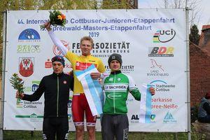 Podium 44. Int. Junioren Etappenfahrt